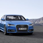 2015 Audi A6 facelift press shots grille