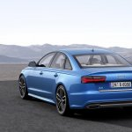 2015 Audi A6 facelift press shots rear quarter