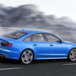 2015 Audi A6 facelift press shots rear