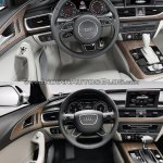 2015 Audi A6 facelift vs older model interior