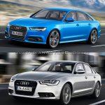 2015 Audi A6 facelift vs older model