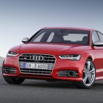 2015 Audi S6 facelift press shots front