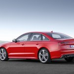 2015 Audi S6 facelift press shots rear