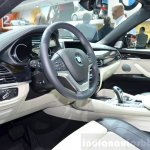 2015 BMW X6 dashboard at the 2014 Paris Motor Show