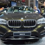 2015 BMW X6 front at the 2014 Paris Motor Show