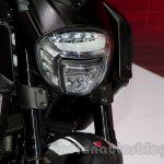 2015 Ducati Diavel Carbon headlamp at the 2014 Moscow Motor Show