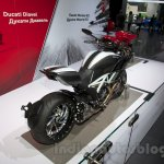 2015 Ducati Diavel Carbon rear three quarters at the 2014 Moscow Motor Show
