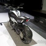 2015 Ducati Diavel Carbon rear three quarters left at the 2014 Moscow Motor Show