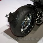 2015 Ducati Diavel Carbon rear tire at the 2014 Moscow Motor Show