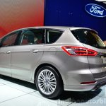 2015 Ford S-Max rear left three quarter at the 2014 Paris Motor Show