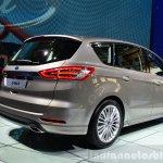 2015 Ford S-Max rear right three quarter at the 2014 Paris Motor Show