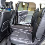 2015 Ford S-Max rear seats at the 2014 Paris Motor Show