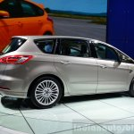 2015 Ford S-Max rear three quarter at the 2014 Paris Motor Show