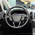 2015 Ford S-Max steering wheel at the 2014 Paris Motor Show