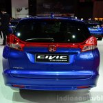 2015 Honda Civic Tourer facelift rear at the 2014 Paris Motor Show