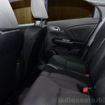 2015 Honda Civic facelift rear seat at the 2014 Paris Motor Show
