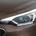 2015 Hyundai i20 Europe press shot headlight