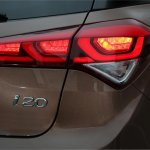 2015 Hyundai i20 Europe press shot taillight