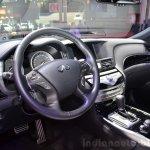 2015 Infiniti Q70 cabin at the 2014 Paris Motor Show