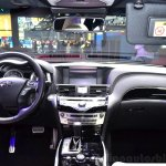 2015 Infiniti Q70 dashboard at the 2014 Paris Motor Show