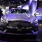2015 Infiniti Q70 front at the 2014 Paris Motor Show