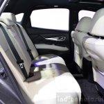 2015 Infiniti Q70 rear seat at the 2014 Paris Motor Show