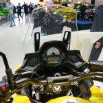 2015 Kawasaki Versys 650 instrument cluster at the INTERMOT 2014