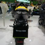 2015 Kawasaki Versys 650 rear at the INTERMOT 2014