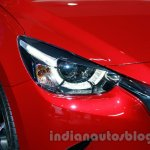 2015 Mazda2 at the 2014 Indonesia International Motor Show LED headlights