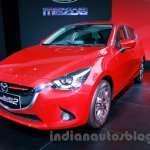 2015 Mazda2 at the 2014 Indonesia International Motor Show front quarter