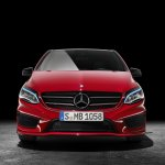 2015 Mercedes B Class facelift press shots front
