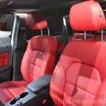2015 Mercedes B Class front seats at the 2014 Paris Motor Show