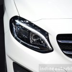 2015 Mercedes B Class headlamp at the 2014 Paris Motor Show