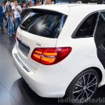 2015 Mercedes B Class rear fascia at the 2014 Paris Motor Show
