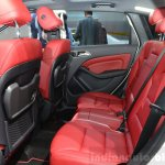 2015 Mercedes B Class rear seat at the 2014 Paris Motor Show