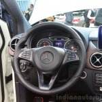 2015 Mercedes B Class steering wheel at the 2014 Paris Motor Show