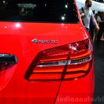 2015 Mercedes B Class taillight red at the 2014 Paris Motor Show