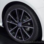 2015 Mercedes B Class wheel at the 2014 Paris Motor Show