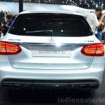 2015 Mercedes C 63 AMG Estate rear at 2014 Paris Motor Show
