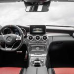 2015 Mercedes C 63 AMG S dashboard press image