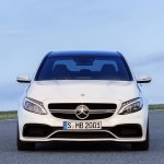 2015 Mercedes C 63 AMG S front press image
