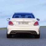 2015 Mercedes C 63 AMG S rear press image