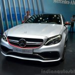 2015 Mercedes C 63 AMG at 2014 Paris Motor Show