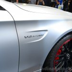 2015 Mercedes C 63 AMG fender at 2014 Paris Motor Show