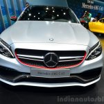 2015 Mercedes C 63 AMG front at 2014 Paris Motor Show