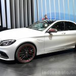 2015 Mercedes C 63 AMG front left three quarter at 2014 Paris Motor Show