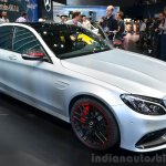 2015 Mercedes C 63 AMG front three quarter at 2014 Paris Motor Show