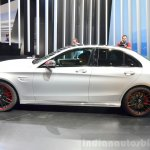 2015 Mercedes C 63 AMG profile at 2014 Paris Motor Show