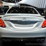 2015 Mercedes C 63 AMG rear at 2014 Paris Motor Show