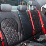 2015 Mercedes C 63 AMG rear bench at 2014 Paris Motor Show